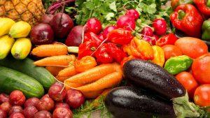 donación de verduras