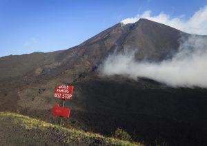 sendero del volcán pacaya