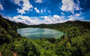 volcan y laguna ipala