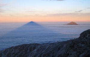 vista de volcán Tlajomulco