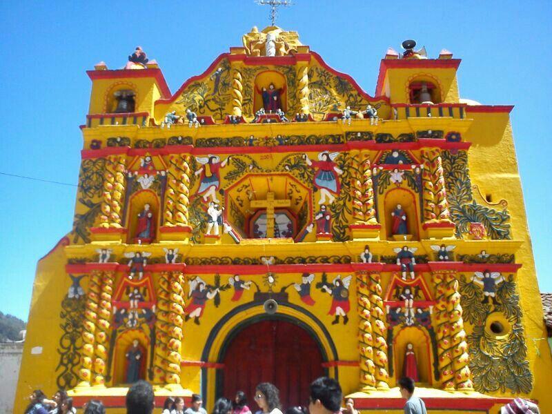 San Andrés Xecul - Pinterest