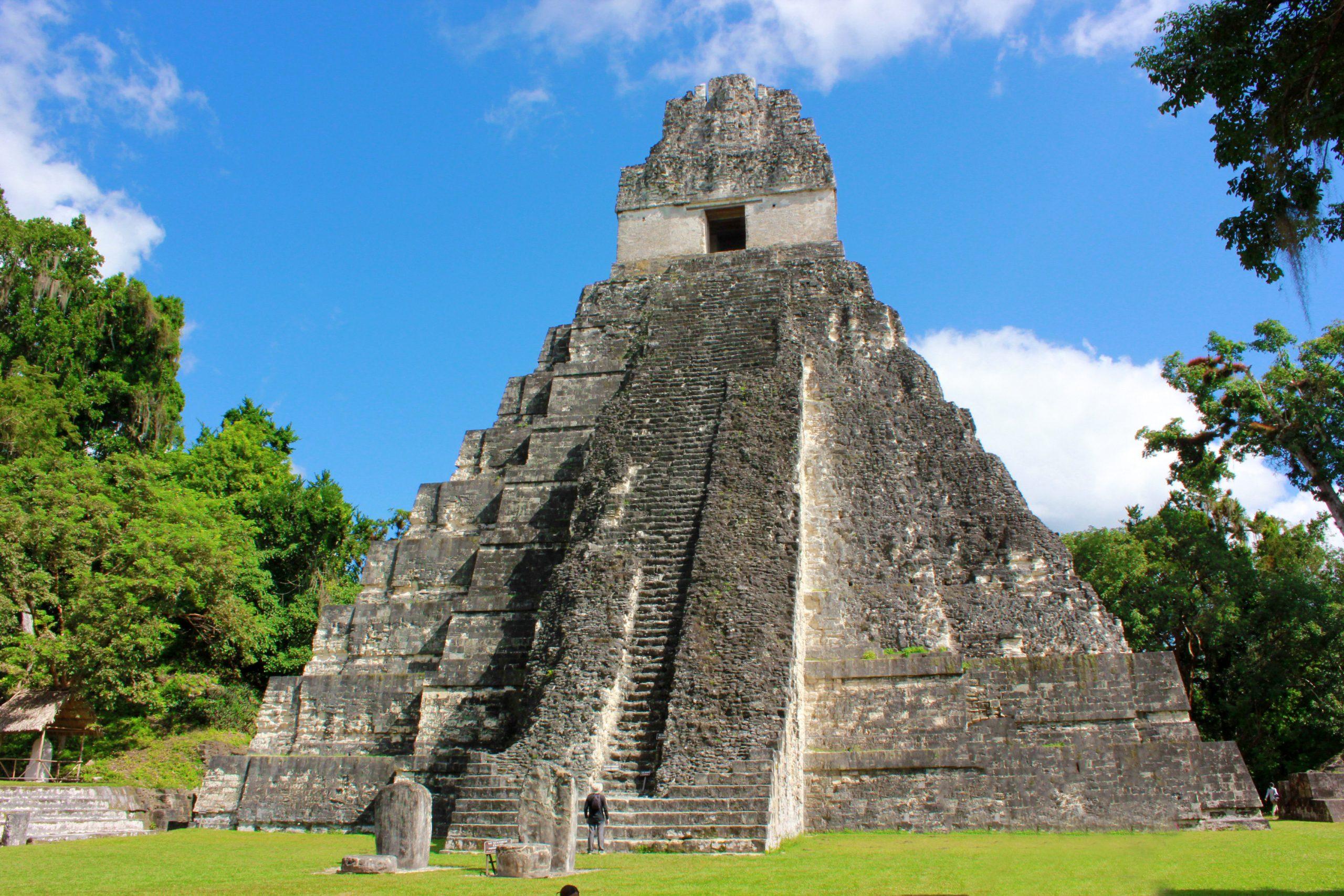 Las ruinas mayas del Tikal