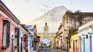 vista de Antigua Guatemala