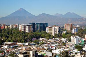 Vista de la Ciudad de Guatemala